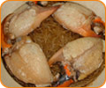 Steam Crab's claws with Vermicelli in Casseroled