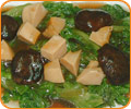 Sauteed Abalone and Lettuce